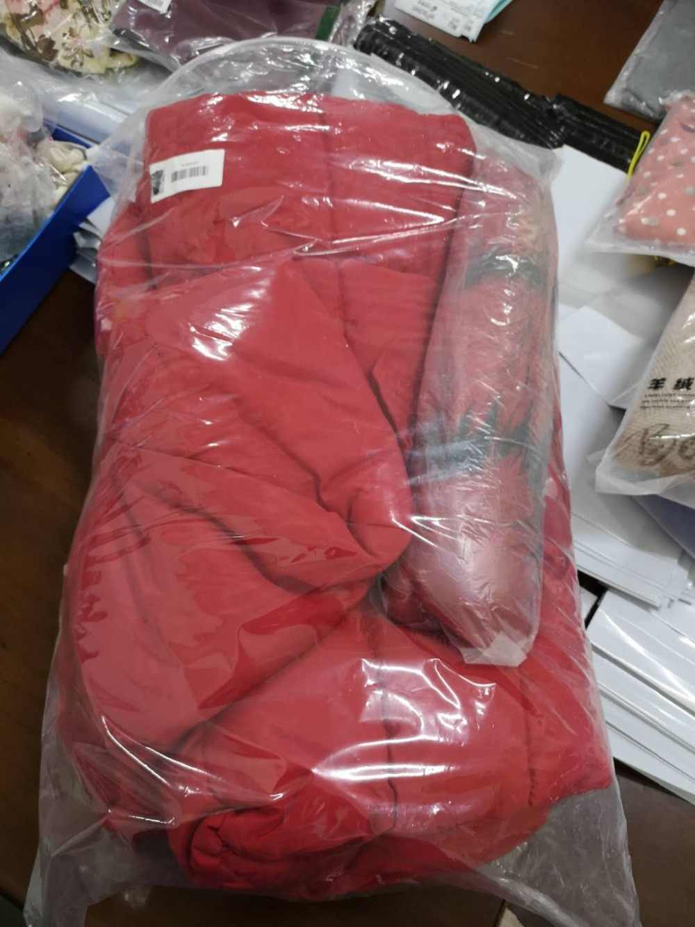 Женская длинная куртка Bella Philosophy, куртка плотная, пуховик с тонким меховым воротником, теплое пальто из хлопка для зимы
