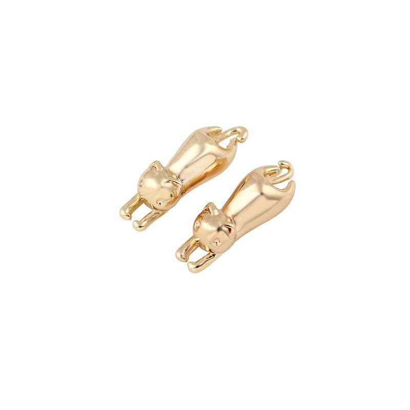 Hfarich New Item Hot Sale Earrings Cute Small Cat Stud Earring ...