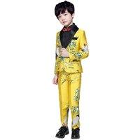 High quality special design boys blazer kids gentleman wedding formal suit