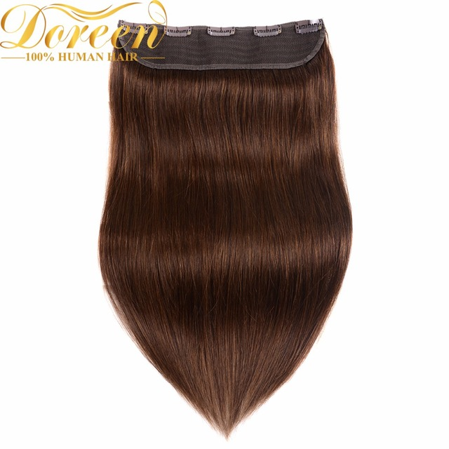 Doreen 24inch 60cm Clip In Hair Extensions 160g Malaysia No Remy One