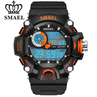SMAEL Watches Men Military Army Mens Watch Reloj Led Digital Sports Wristwatch Male Gift Analog S