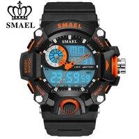 SMAEL Watches Men Military Army Mens Watch Reloj Led Digital Sports Wristwatch Male Gift Analog S
