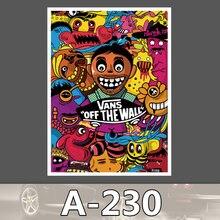 A-230 Schuhe Marke Wasserdicht DIY Aufkleber Für Laptop Gepäck Skateboard Kühlschrank Auto Graffiti Cartoon Aufkleber