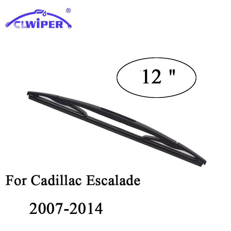 CLWIPER Rear Wiper Blades For CADILLAC ESCALADE (2007-2014)2008 2009 2010 2011 2012 2013 Car Windshield Wiper Blade 12