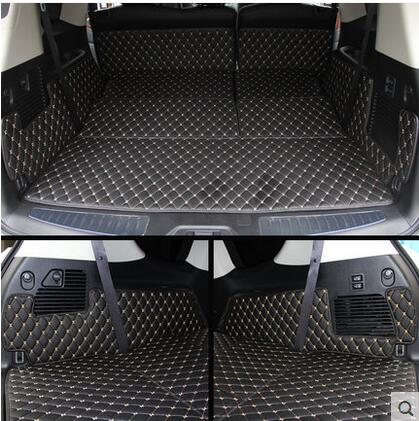 Car Travel BEST Special trunk mats for Nissan Patrol Y62 7seats 2016 durable waterproof boot