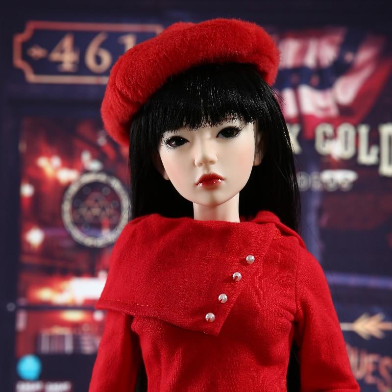 New Iplehouse IP Jid Asa bjd sd doll 1/4 High Quality resin toys Joint doll  body model  girls fashion free eyes  gift