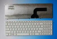 Бесплатная доставка клавиатуры ноутбука для ASUS G60 G60JX K52 N50 G73 Услуги белый цвет рамки русские клавиатуры (RU) 9J. N2J82.20R