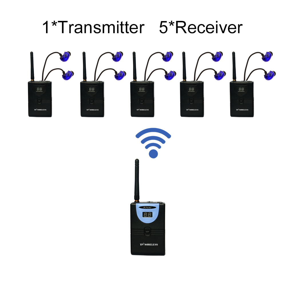 tp wireless 2 4ghz digital wireless hdcd audio adapter music sound transmitter and receiver 1