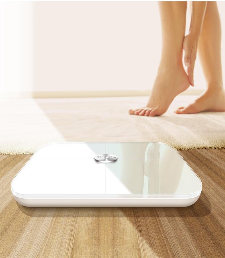 Original Pre mi um Smart Bad Körper Fett Gewicht Waagen Boden mi Körper Zusammensetzung Skala Digitale Balance Bluetooth Waage - 6
