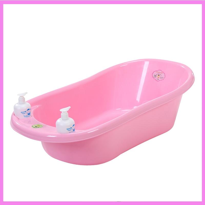 Plastic Portable Baby Cartoon Basin Foot Bath Bathtub Wash Outdoor Child Care Baby Bath Bathroom Stuff Suction Bathtub