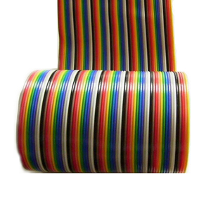 Image 3 - 10 Meters Rainbow Ribbon Cable Premium Standard 7*0.127mm 28AWG Pitch 12 Pins Flat  Wires Colorful Rainbow Ribbon Cable