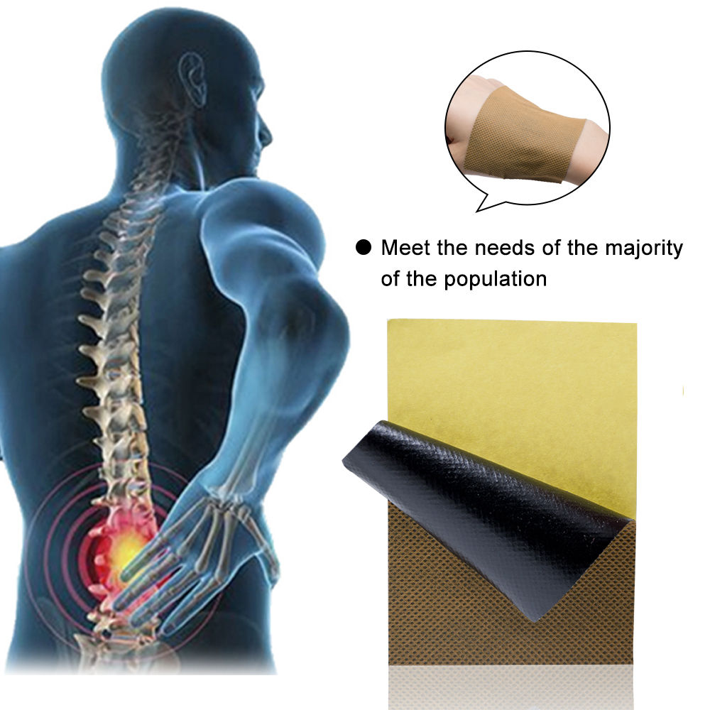 US $1 38 49% OFF|16Pcs/2Bags Medical Arthritis Pain Stucco Upper Back  Muscle Pain Patch Radiculitis Back Stickers D1379-in Patches from Beauty &