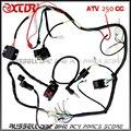 De ELECTRICIDAD COMPLETA QUAD ATV Cuatro ruedas 200cc 250cc bobina de Encendido, Interruptor cdi Rectificador clave arnés ARNÉS de CABLEADO