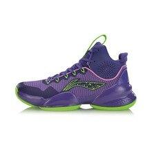אישור Li ning גברים כוח V מקצועי כדורסל נעלי ביש רירית ענן כרית נוחות ספורט נעלי סניקרס ABAP025