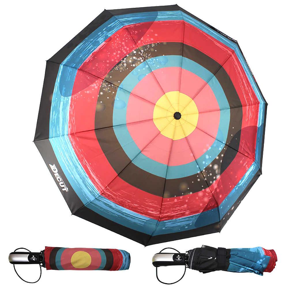 Decut полностью автоматический зонт красочный зонт от солнца Открытый Инструменты Пять цветов Горячая Новинка