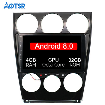 9 Android 8.0 Car GPS Player Navi for Mazda6 Mazda 6 2002-2008 8 core cpu PX5 Stereo Autoradio Multimedia 4G ROM tape recorder image
