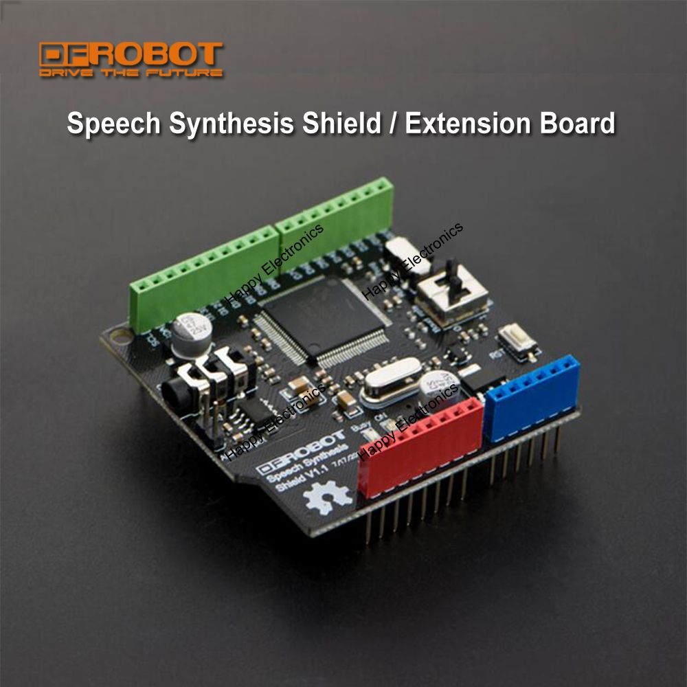 Dfrobot speech synthesis shield extension board