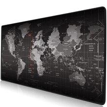 Игровой коврик для мыши большой коврик для мыши геймер большой коврик для мыши компьютерный коврик для мыши резиновая поверхность карта мира Mause коврик для клавиатуры Настольный коврик для игры