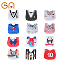 Free shipping Infant New Saliva Towels Newborn baby Dress shape cotton Burp Cloths Girl Casual bibs Boy bib aprons Fit 0-3 years