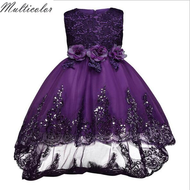 So Beauty New Design Princess Girls Dress Girls Baby Cloth Dress Children Party Weeding Dresses Fashion Flower Children Dress