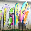 Full Color Print Beach Flags Graphic Flag Banner Company Banner Logo Banner Printing