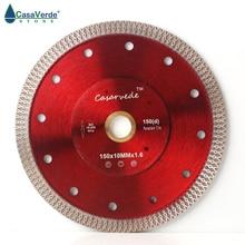 Gratis verzending DC SXSB04 150mm diamant porselein zaagblad 6 inch voor keramische tegels snijden