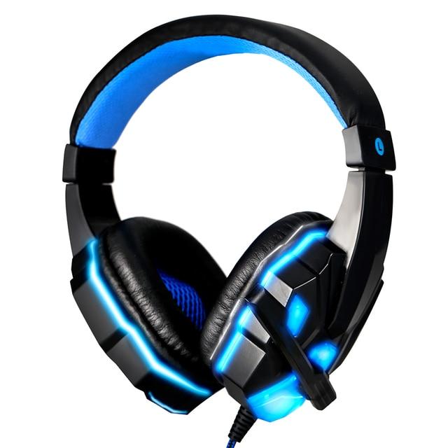 Hot 3.5mm Stereo Surround Gaming Headset Headband Fone de Ouvido com Microfone para PC