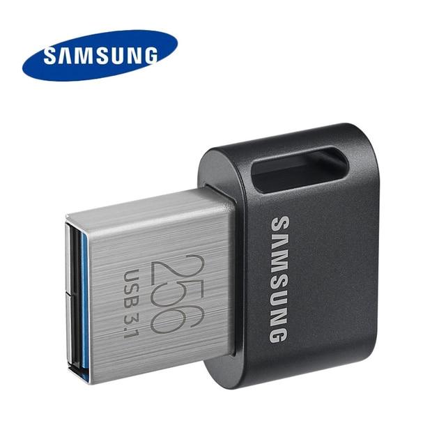 Hàng Chính Hãng Samsung USB 3.1 Pendrive 32GB 64GB 200 MB/giây Memoria Usb 3.0 Flash 128GB 256GB 300 Mb/giây Mini Đĩa USB Thẻ Nhớ