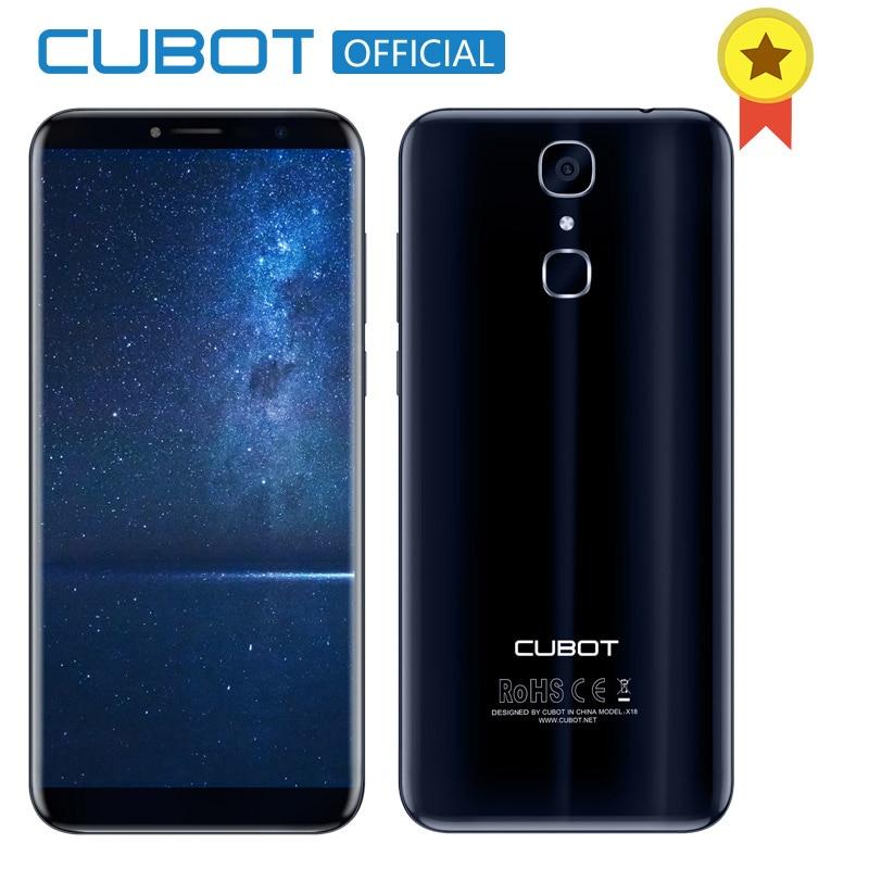 Cubot X18 D'empreintes Digitales 5.7