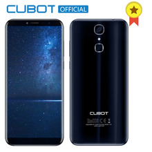 Cubot X18 Fingerprint 5.7″ HD 18:9 MT6737T Quad Core 3GB RAM 32GB ROM Smartphone 13MP Camera Android 7.0 Celular 3200mAh 4G LTE