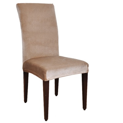 Velvet Fashion Design Universal Elastic chair cover dining housse de - Tekstil rumah - Foto 3