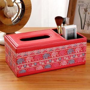 Image 3 - Boîte à mouchoirs en bois Style Vintage
