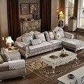 1 + 2 сиденья + гостиная l-образный ткани гостиной диван сочетание