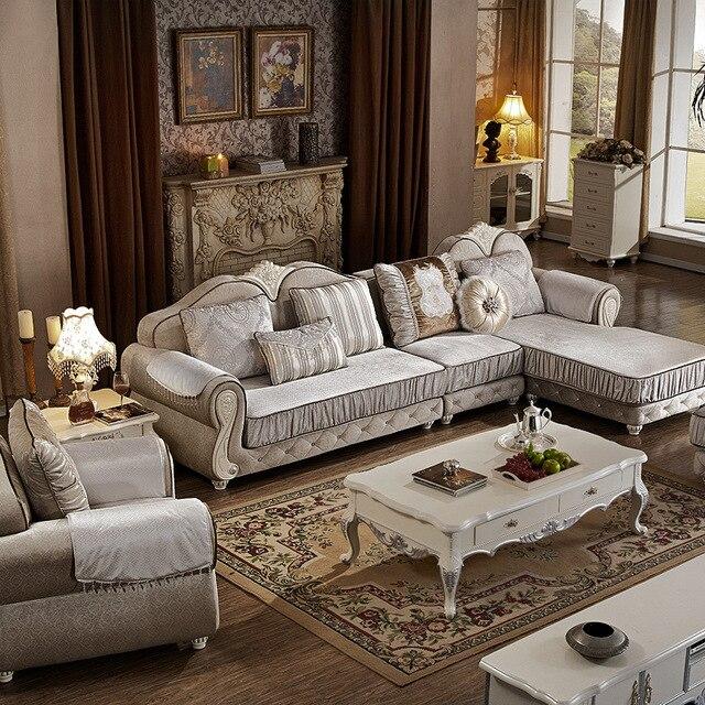... 1 2 Sitz Lounge L Form Stoff Wohnzimmer Sofa Set Kombination In ...