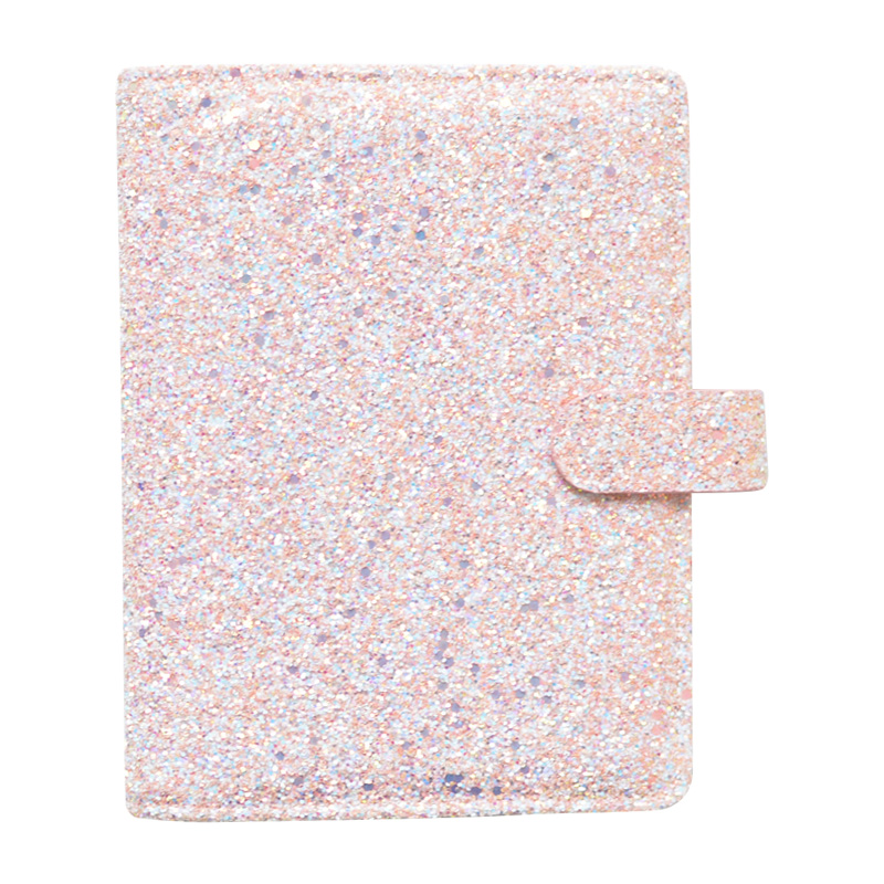 Image 3 - Lovedoki Sequins Series Binder Notebook Dokibook Spiral Planner A5A7 Personal Diary Notebooks And Journals Cute Gift Stationery-in Notebooks from Office & School Supplies