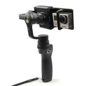 Image 4 - 3D מודפס עבור DJI אוסמו נייד 2 1 כף יד Gimbal מתאם מחזיק הר פעולה מצלמה סוגר לgopro גיבור 6 5 4 3