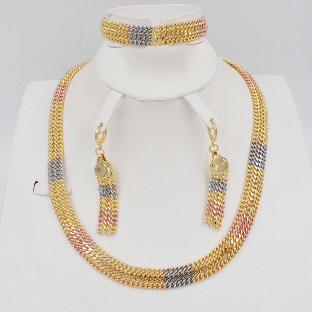 Dubai Gold Jewelry Sets Nigerian Wedding African Beads Crystal Bridal Jewellery Set Rhinestone Ethiopian Jewelry parure цены онлайн