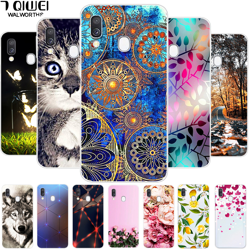 For <font><b>Samsung</b></font> <font><b>A40</b></font> Case <font><b>2019</b></font> <font><b>Cover</b></font> TPU Soft Silicone Phone Case For Coque <font><b>Samsung</b></font> Galaxy <font><b>A40</b></font> Case A405 A405F Back <font><b>Cover</b></font> A 40 Funda image