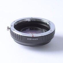 Booster Focal Reductor De Velocidad Turbo anillo adaptador para Lente EF a m4/3 montaje EM5 cámara GX7 GF6 GX1 GX7 E-PL6 E-PL5 EM5 EM1 BMPCC
