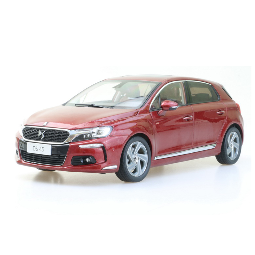 1:18 Diecast Model For Citroen DS4S Alloy Toy Car Collection Gifts Free Shipping scale new 1 18 citroen c quatre 2012 hatchback alloy diecast model car toy gift collection with original box free shipping