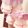 Cute Winter Warm Coral Velvet Pumpkin Shorts Cute Lolita Safty Bubble Shorts Bow 6 Colors