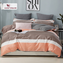 SlowDream Bedding Set Home Textiles Double Bed Sheet Linens Euro Bedspread Duvet Cover Quilt Nordic