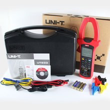 UNI-T UT231 Single-phase 2-wire 600KW Power Clamp Meter True RMS Digital Meters Factor Phase Angle USB Data Logging