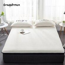 Натуральный латексный матрас диван татами бытовой Отель латексный матрас шейного позвонка 7 зон тело давление релиз кровать матрас