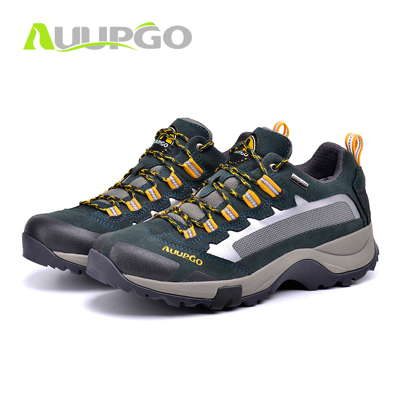 Nouvelles chaussures décontractées pour hommes et femmes chaussures à lacets imperméables antidérapantes respirantes Trekking baskets de plein air Jogging marche chaussures de randonnée