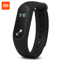 Original Xiaomi Mi Band Wristband MiBand 2 Smart Bracelet Heart Rate Tracker Pedometer for Android IOS Mobile phone pk xiaomi 1