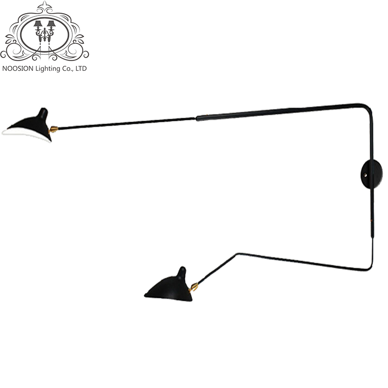 NOOSION Serge Mouille Modern Wall Lamp For font b Home b font Decoration Living Room Wall