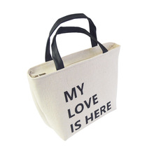 Cotton Hemp Thickened Aluminum Foil Portable Insulation Lunch Bag Student Box