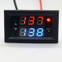 12V Timer Delay Relay Module Digital LED Display Cycle 0-999 Adjustable Relay xin ling hhj1 jdm1 48 11 n standard digital counting relay 11 foot with base