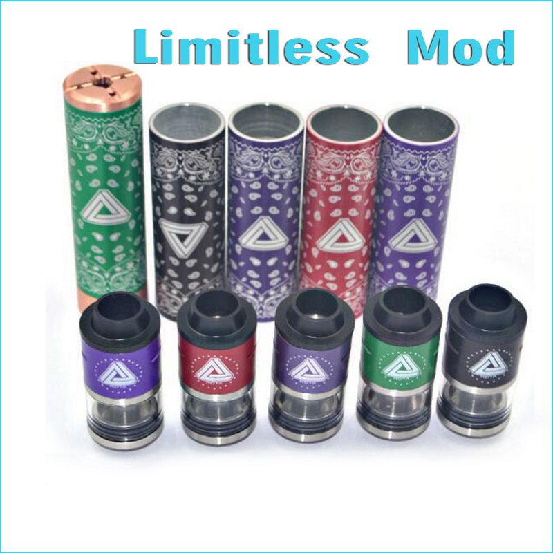 ФОТО Hot sale Limitless Mod 18650 Mechanical Mod Clone High Quality Copper Material Fit 510 Thread best 2017 mech mod